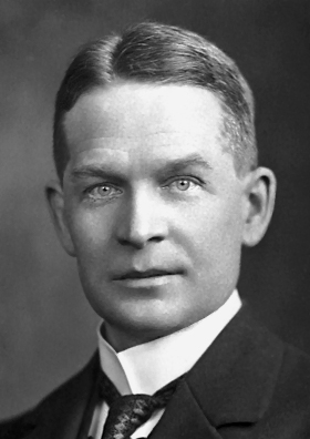Frederick Soddy, Nobel Prize in Chemistry (1921) Source: Wikimedia Commons