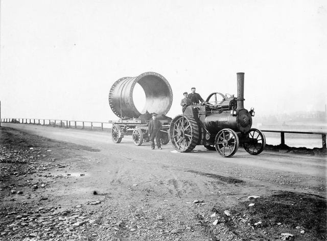 1901 construction of a Scottish sewer. (Photo: Scottish Water)