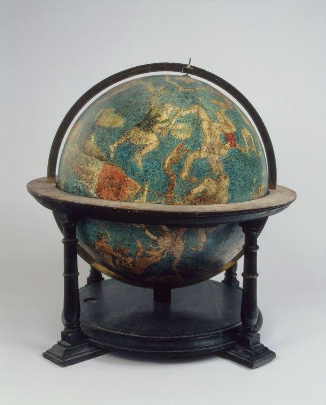 Gerardus Mercator's Celestial Globe from 1551
