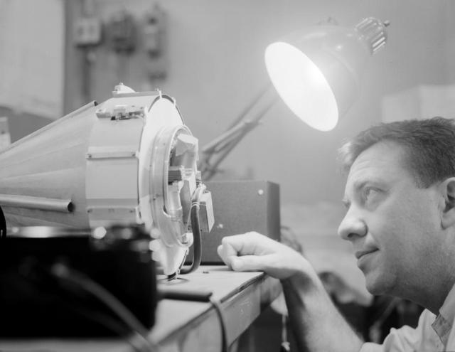 Happy Birthday to James Van Allen who designed key instruments on the 1st U.S. satellite in orbit Explorer 1 (1958) (NASA History Office)