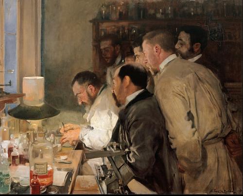 Una investigación by Joaquín Sorolla y Bastida, 1897