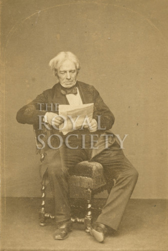The Royal Society: Portrait of Michael Faraday 1863 Photo by John Watkins