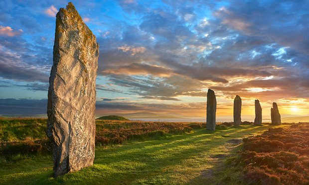 The history of humankind and the landscape are woven together. Photograph: Alamy