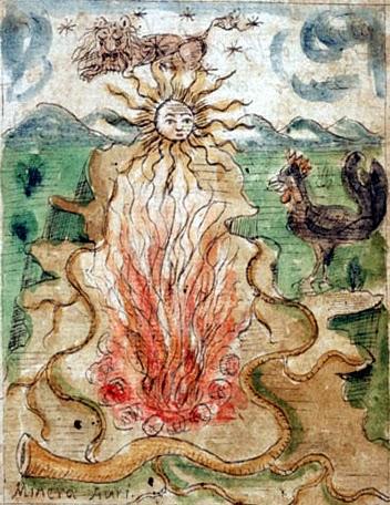 "Antonio Neri, ""The Mineral Gold"" Tesoro del Mondo, Ferguson 67, f. 5r."