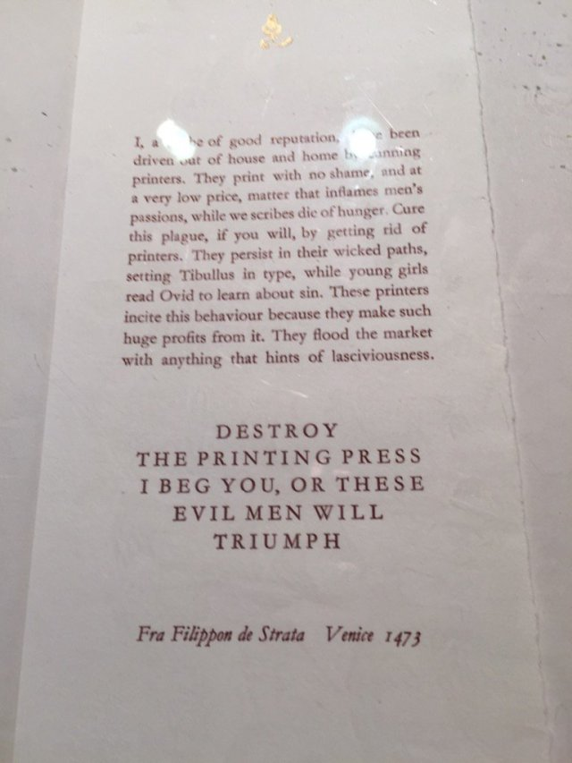 Printing Press h/t Jennifer Schuesssler