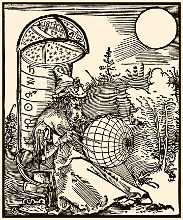The Astronomer  Workshop of Albrecht Dürer