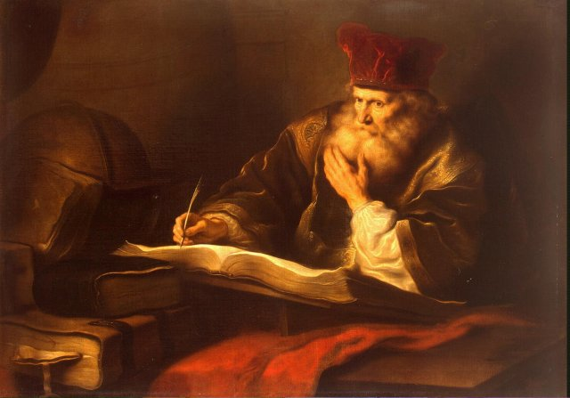 Koninck Salomon: An Old Scholar