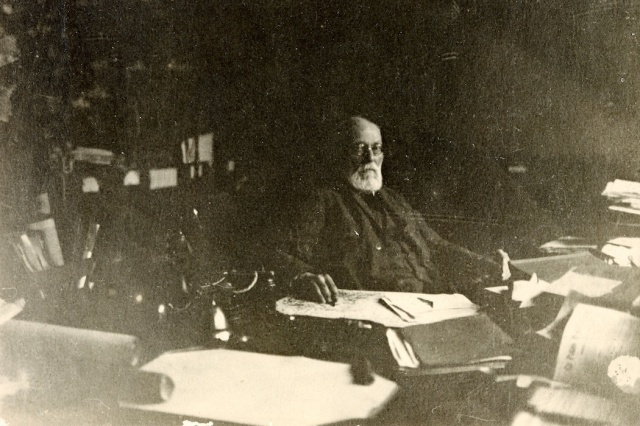 Belgian information activist Paul Otlet (1927). WikiMedia Commons