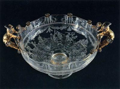 Rock crystal cup , around 1550,  Museo degli Argenti, Palazzo Pitti, Florence