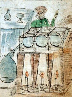 Antonio Neri, 1598-1600, MS Ferguson 67, f. 25r.