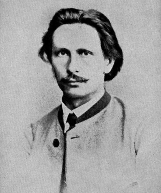 Carl Benz 25 years old (1869) Source: Wikimedia Commons