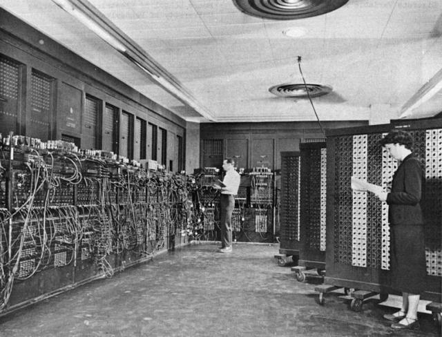 The original Eniac.