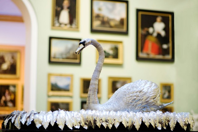 The Silver Swan. Credit: The Bowes Museum