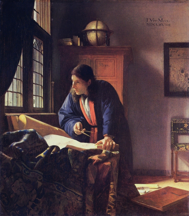 Johannes Vermeer: The Geographer