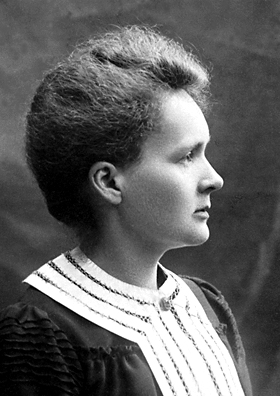 Marie Curie 1903 Nobel Prize portrait Source: Wikimedia Commons