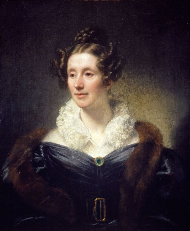 Thomas Phillips - Mary Fairfax, Mrs William Somerville, 1780 - 1872. Source: Wikimedia Commons