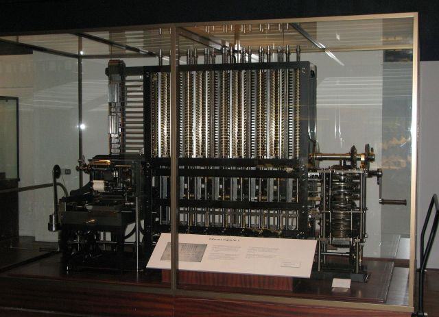 Charles Babbage – Difference Engine No. 2 Science Museum