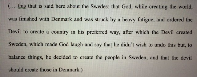 Great story about the creation of Sweden & Denmark in 17th century text by Lorenzo Magalotti ¬ h/t @DollyJorgensen