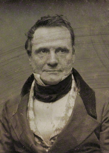 Daguerreotype of Charles Babbage c. 1850. Antoine Claudet - National Portrait Gallery Source: Wikimedia Commons