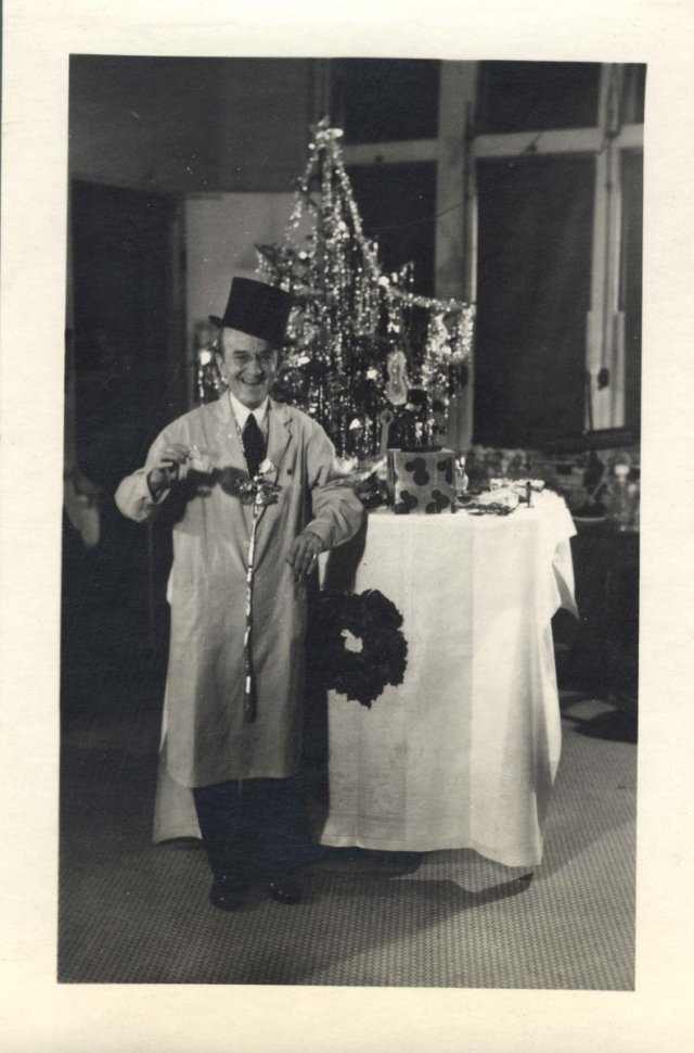 Oswald Avery at Xmas 1940