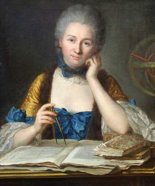 Gabrielle Émilie Le Tonnelier de Breteuil, Marquise du Châtelet (1706-1749) Source: Wikimedia Commons