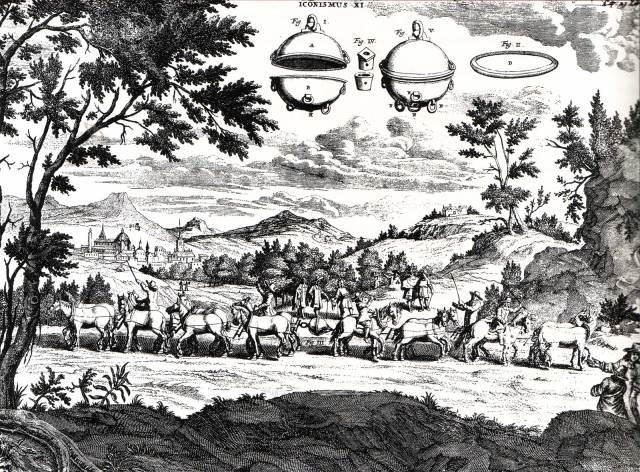 Engraving by Caspar Schott Source: Wikimedia Commons