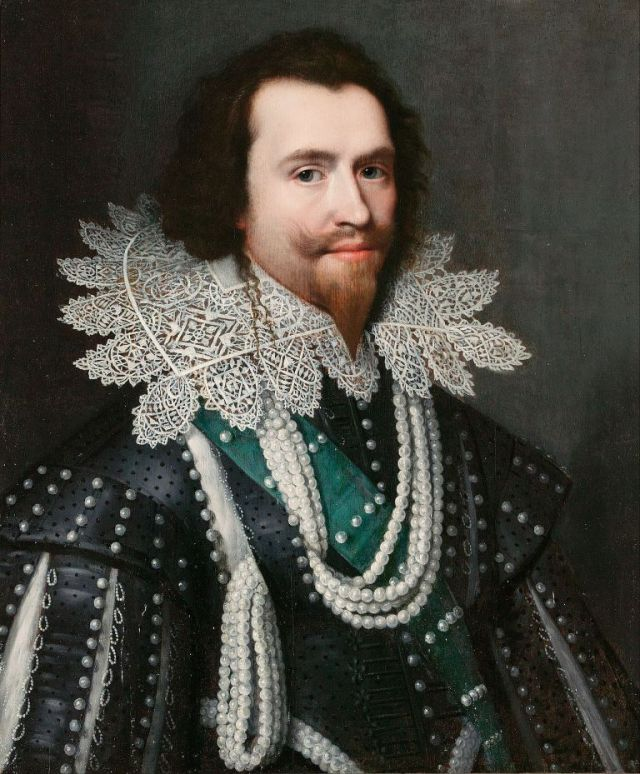 The bewitching George Villiers to whom James VI and I became attached. Michiel van Mierevelt, George Villiers, 1625-6. (Wikimedia Commons)