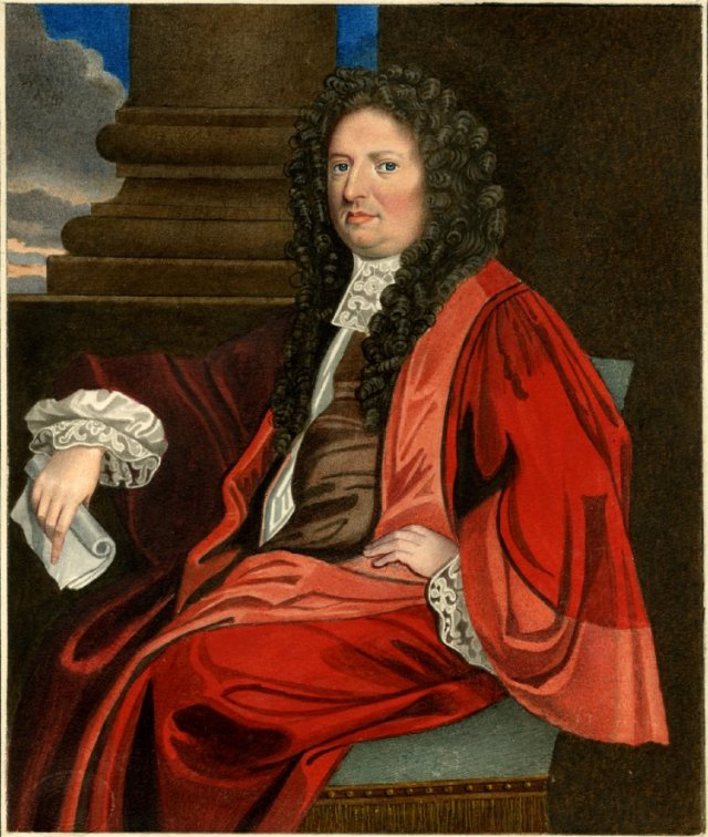 Portrait of Robert Plot, D.D. by Sylvester Harding Source: Wikimedia Commons