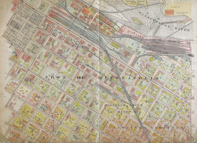Gallery: 1914 Plat Maps of downtown Minneapolis, showing the extensive rail lines. TOM WALLACE – STAR TRIBUNE