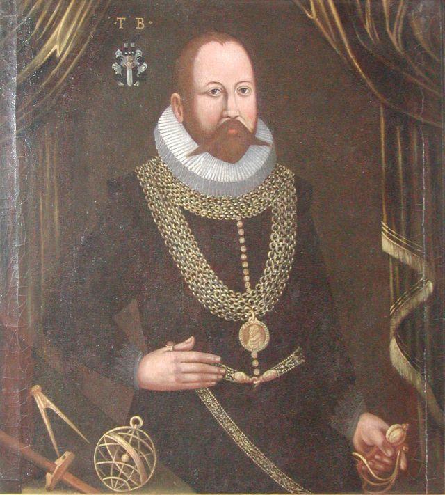 Tycho Brahe Source: Wikimedia Commons