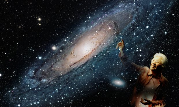Vera Rubin mapped the motion of stars in spiral galaxies. Photograph: Alamy Stock Photo