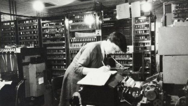 Research students like Joyce Wheeler had to use Edsac at night Photo: G R Harvey