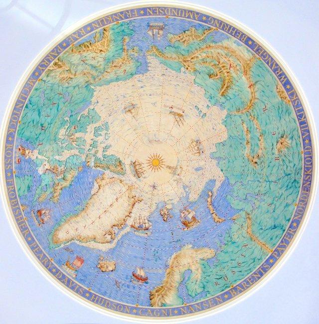 Scott Polar Research Institute Ceiling Arctic