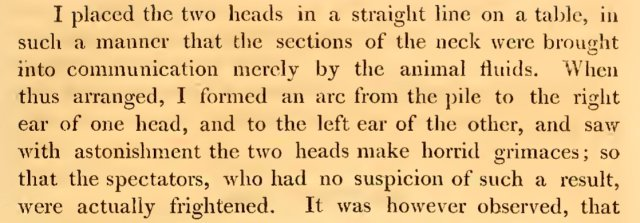 Not for the faint-hearted. My current reading: Aldini (1803). These are the heads of two unnamed 'brigands', recently beheaded ¬– Matthew Cobb (@matthewcobb)