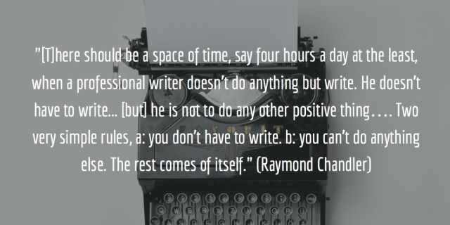 chandler-writing
