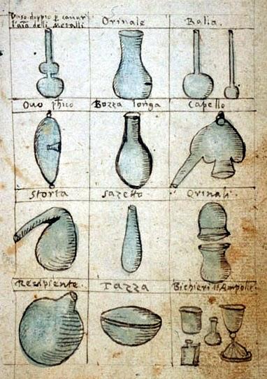 """Antonio Neri (1598-1600), """"Libro intitulato Il tesoro del mondo"""" f. 38"""