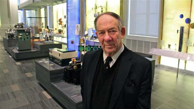 Chemical Heritage Foundation president Robert Anderson formerly directed the British Musuem. (Emma Lee/WHYY)