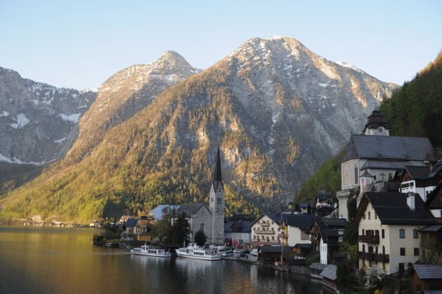 Hallstatt, Austria, is home to the world's largest salt mine—and a growing collection of information-storing ceramic plates.