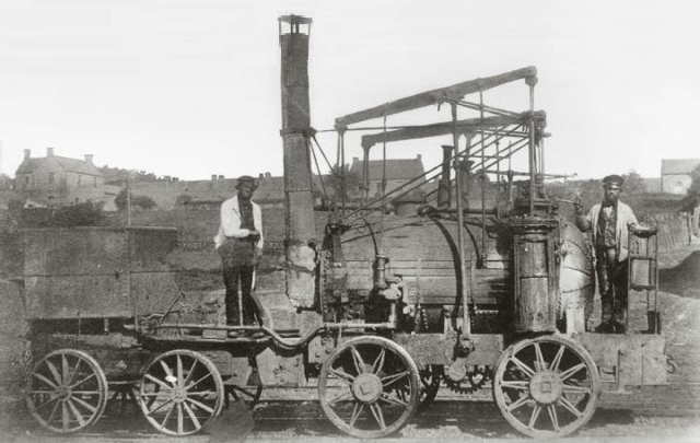 Puffing Billy 1862 Source: Wikimedia Commons