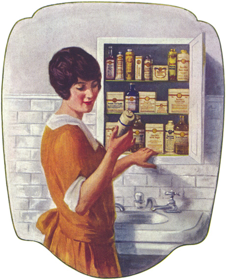 1923 advertisement for Squibb's medical and hygiene products.