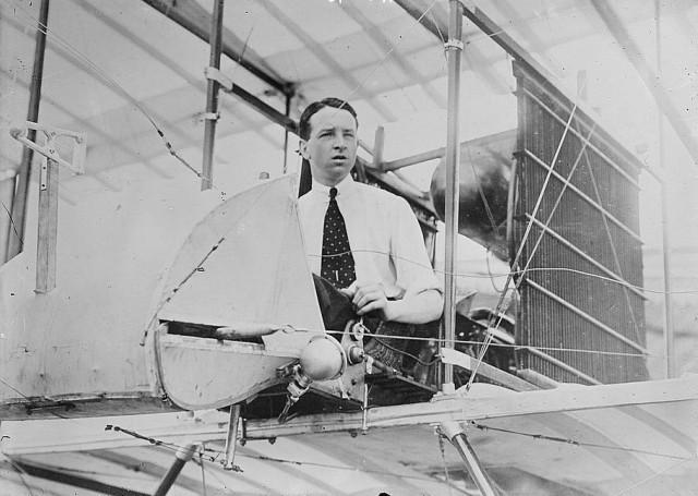 Thomas Sopwith around 1911. Image: Library of Congress