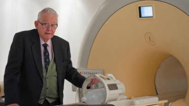 Professor Sir Peter Mansfield pioneered MRI technology University Of Nottingham