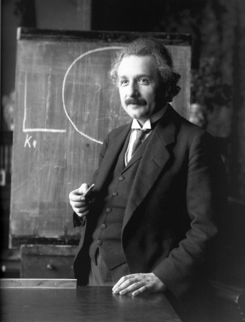 Albert Einstein in Vienna 1921, Credit: Ferdinand Schmutzer