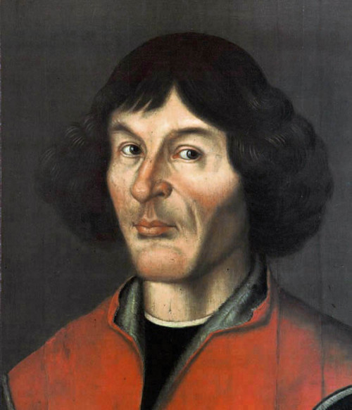 Nicolaus Copernicus portrait from Town Hall in Toruń – 1580 Source: Wikimedia Commons