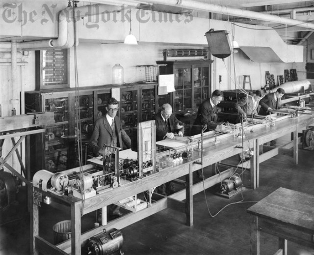 Early Computer at M.I.T. – 1927 New York Times
