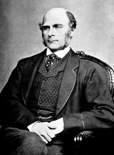 Francis Galton 1850s Source: Wikimedia Commons