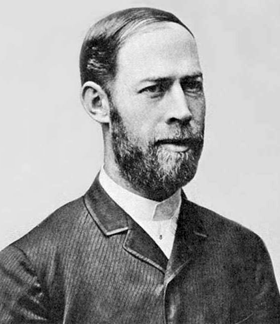 Heinrich Rudolf Hertz Source: Wikimedia Commons