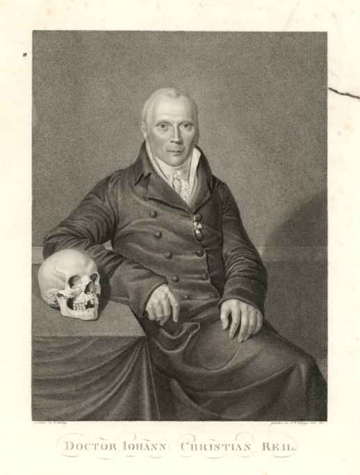Reil the anatomist: a portrait from 1811 Source: Wikimedia Commons
