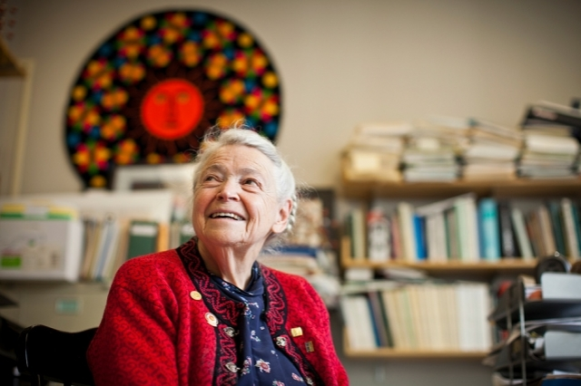 Mildred S. Dresselhaus Photo: Dominick Reuter