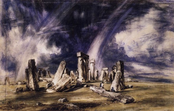 Stonehenge as Painted by John Constable in 1835